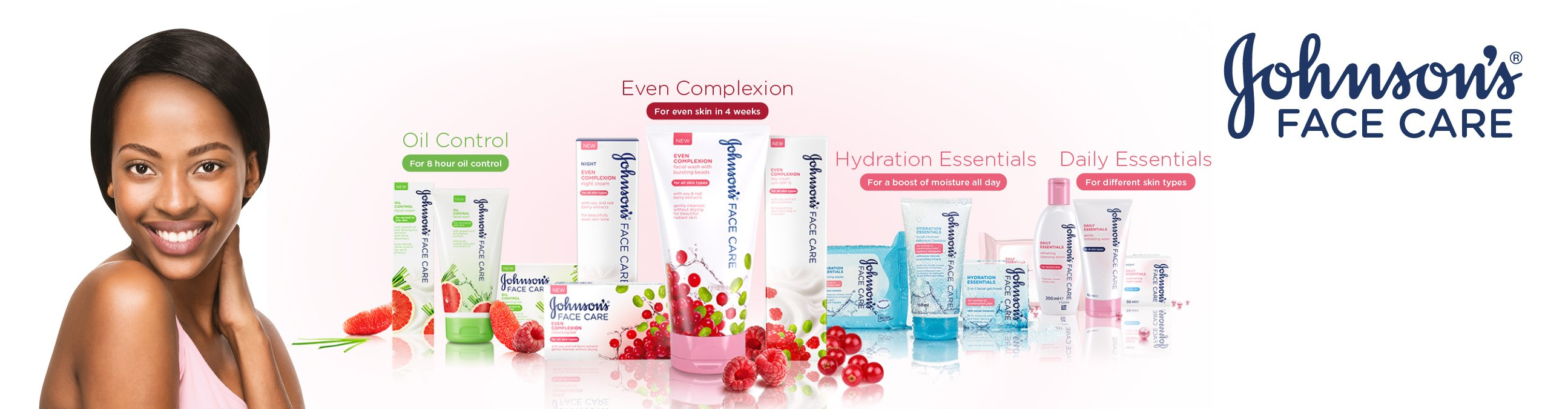 Johnson Skincare Range