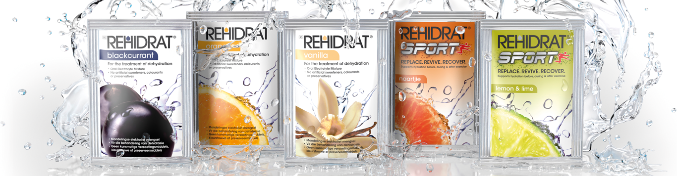 Rehidrat Product Range