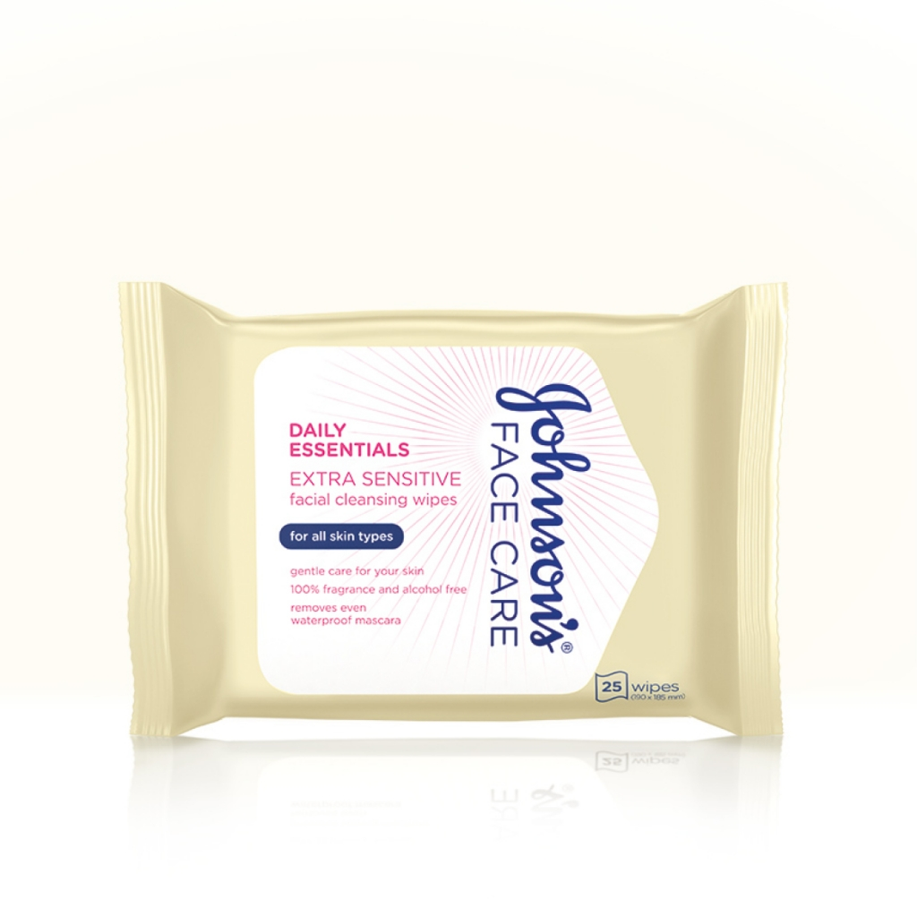 Daily Essentials Extra Sensitive Facial Cleansing Wipes  for All Skin Types product image
