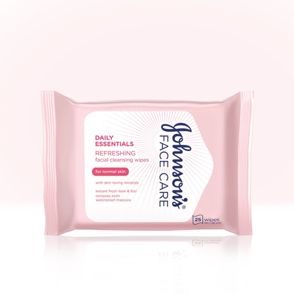 Daily Essentials Refreshing Facial Cleansing Wipes for Normal Skin product image