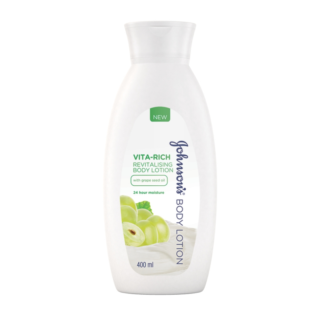 Vita-Rich Revitalising Body Lotion with Grape Seed Oil